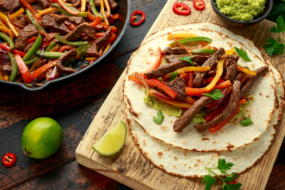 Mexican Fajita Street Food